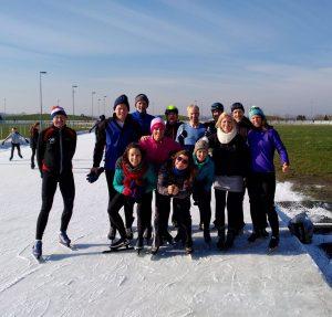 Mischa Top - Schaatsen - groepsles