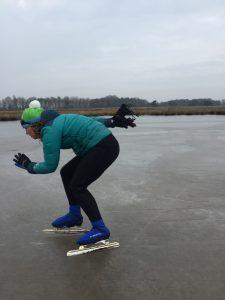 Mischa Top - schaatsen