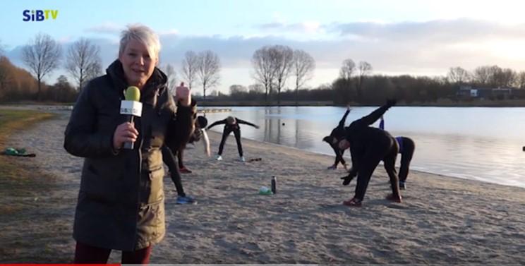 SiB TV Koud Water zwemmen training Groningen Mischa Top