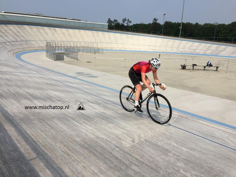 Mischa Top wielrennen opstapdag
