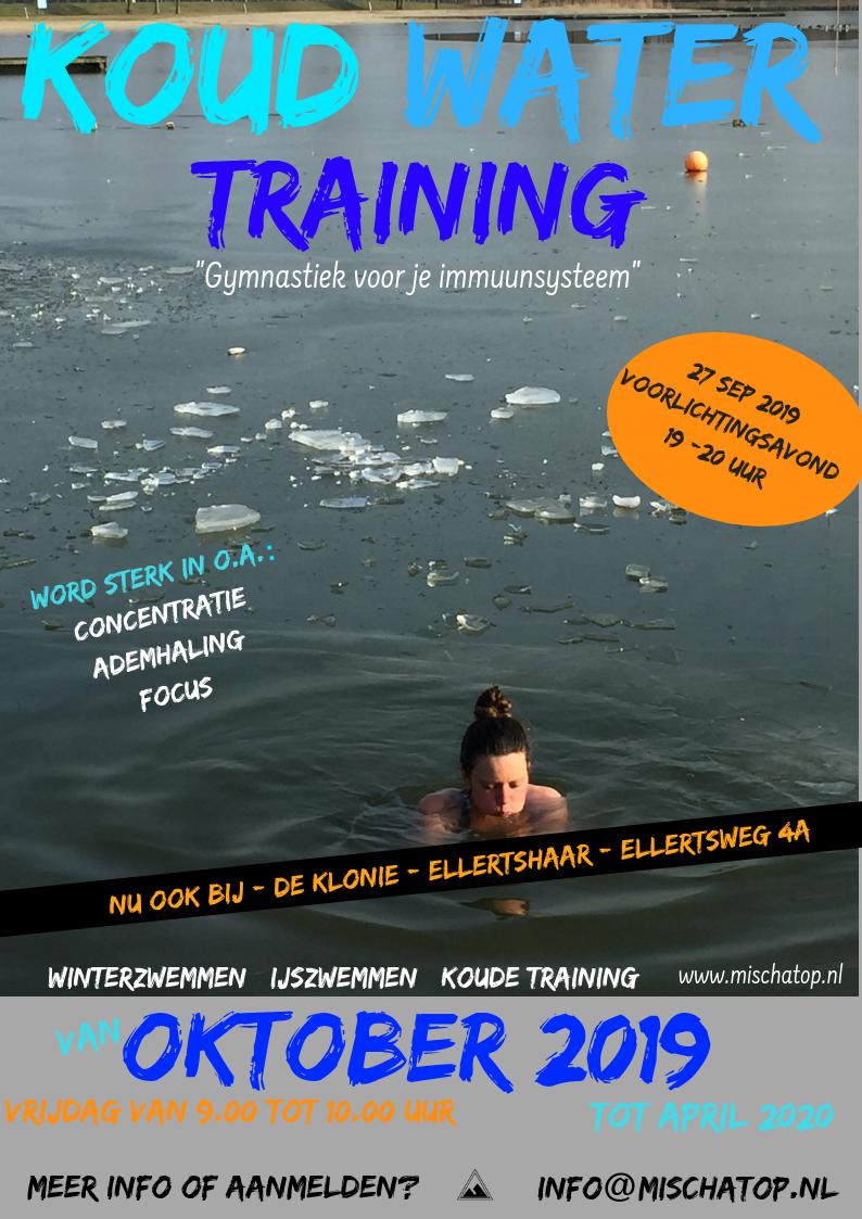 Koud water training ellertshaar 2019