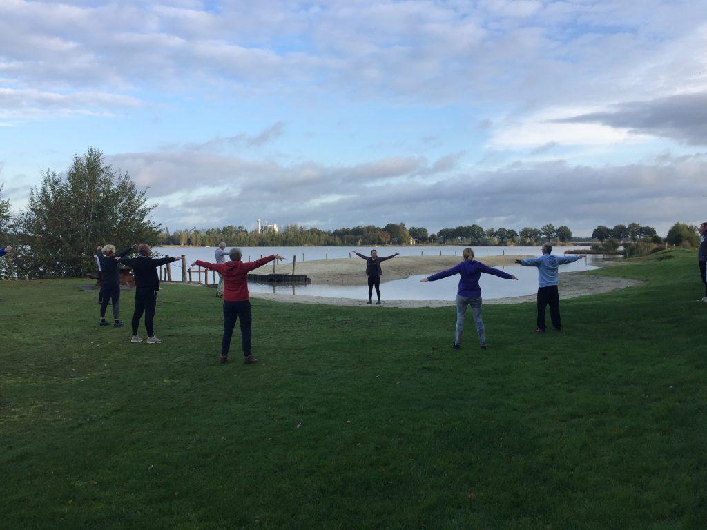 Vierde reeks koud water training ellertshaar