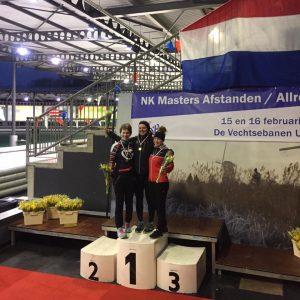 Nederlands Kampioen 3000m Mischa Top