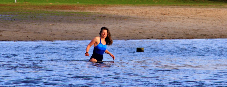 Mischa Top Kou d water zwemmen training 2020