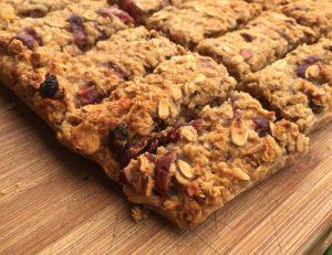 Cranberry muselireep Mischa Top Wielrennen recept 2