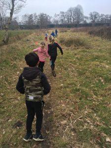 Trailrunning kinderen Haren - Mischa Top
